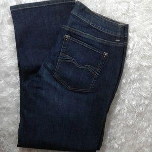 NWT white house black market denim jeans sz 8 crop